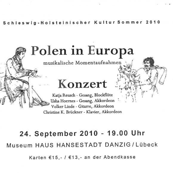 Schleswig-Holsteinischer Kultur Sommer 2010